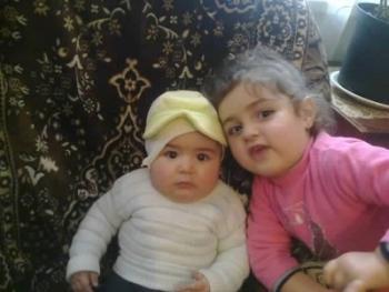 Внуки Аветисянов – убитая 2-летняя Асмик и чудом спасшийся 6-месячный Сережа