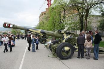 152-мм гаубица Д-20 Армии обороны Арцаха
