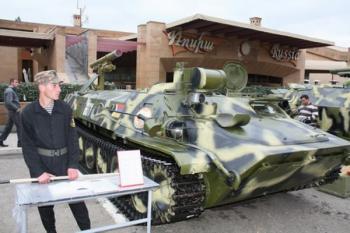 Самоходный противотанковый ракетный комплекс «Штурм-С» Армии обороны Арцаха
