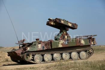 Самоходный ПЗРК «Стрела-10» Армии обороны Арцаха
