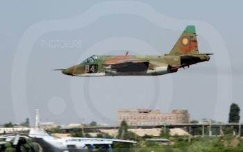 Штурмовик СУ-25 ВВС Армении