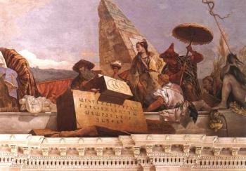Фреска в Вюрцбурге