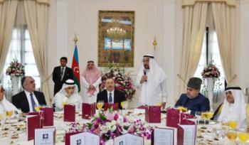 Ильхам Алиев у саудитов