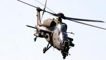 турецкий вертолет огневой поддержки Т-129 АТАК