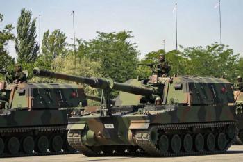 самоходная артиллерийская установка Т-155 Firtina