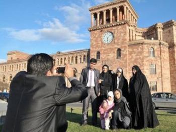 Большинство туристов в Армении были из России, Ирана и США