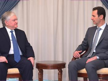 Налбандян Башар Асад
