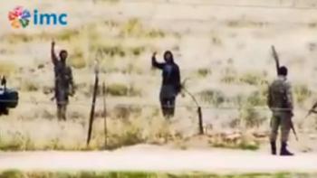 боевики и турецкие пограничники