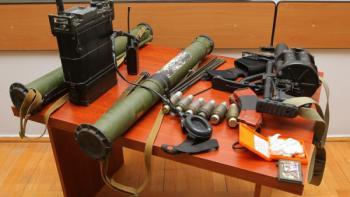 вооружение азербайджанской диверсионной группы