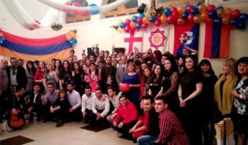 вечеринка Общины Армян Грузии