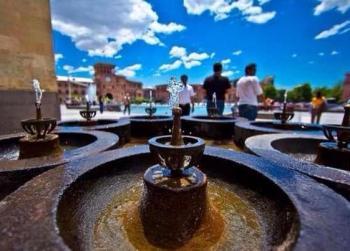 Ереванские пулпулаки фонтанчики