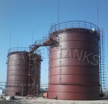 резервуары стальные вертикальные РВС