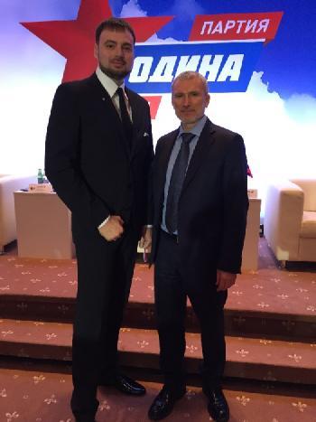 Денис Панасенко и Журавлев
