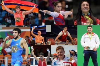 армяне на Олимпиаде