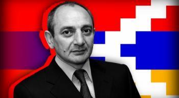 Бако Саакян направил поздравительное послание в связи с Днем защитника Отечества