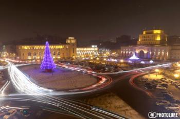 Елка Ереван Новый год
