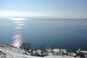 зима Севан