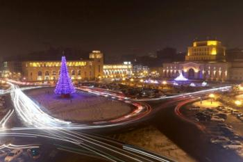 зима Ереван