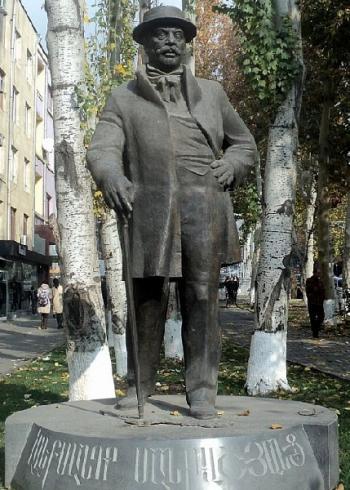 Александр Манташян памятник
