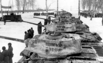 танковая колонна Сасунци Давит