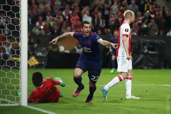 «Манчестер Юнайтед» победил «Аякс» вфинале Лиги Европы