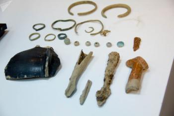 Артефакты в Караундже