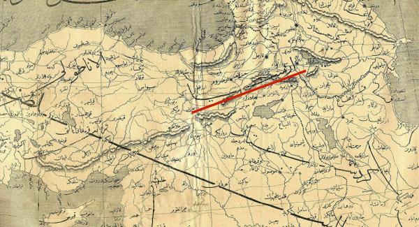 османская карта Рауфа
