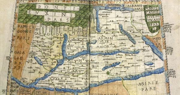Карта по Птоломею