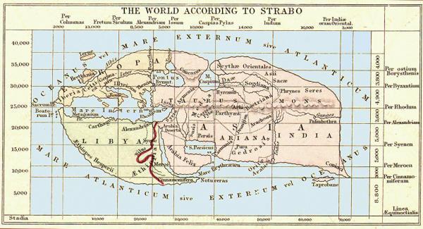 Мир согласно Страбону
