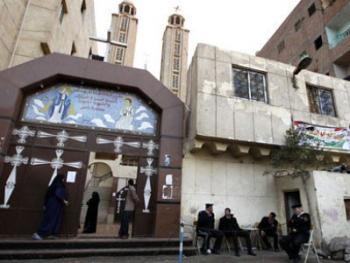 Толпа атаковала коптскую церковь в Египте