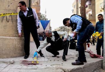 Атака на христиан Египта: 10 жертв, нападавшего убили на месте