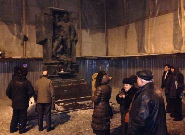 Санкт-Петербург памятник солдатам первой мировой войны