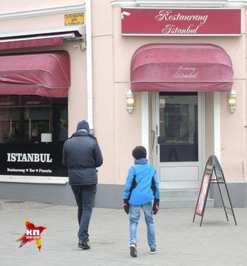 Ресторан Стамбул в мусульманском квартале Мальмо