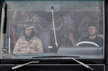 автобусы с боевиками
