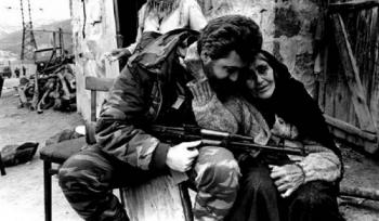 Саркис Ацпанян солдат и бабушка