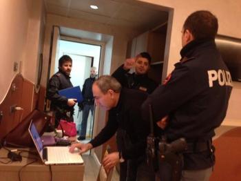 Никол Пашинян и полиция  Рима