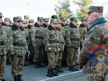 В Армии обороны Арцаха прошли показательные занятия