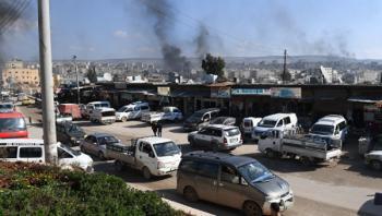 Турецкие военные обстреляли центр Африна