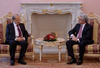 Президенты Армении и Ливана обсудили двустороннюю повестку