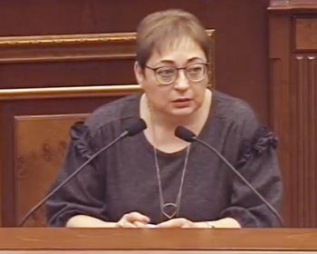 Марина Григорян призвала объявить в международный розыск азербайджанских убийц