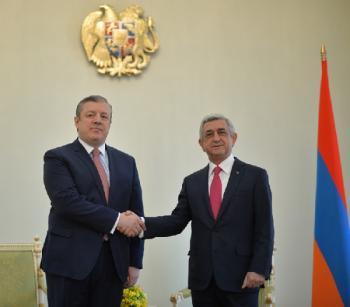 Армения-Грузия: Первый раунд - на положительной ноте