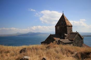 монастырь на Севане