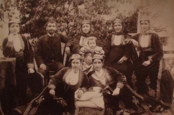 семья Тер-Багдасарян до Геноцида Ардвин