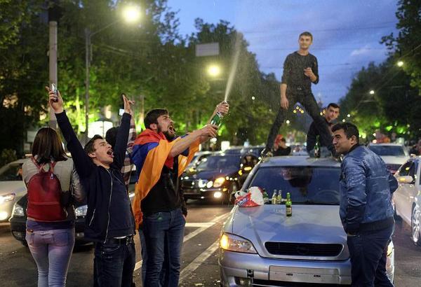 революция шампанское