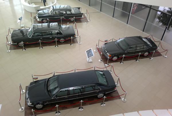 Автомобили Гейдара Алиева