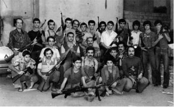 Монте Мелконян в Ливане