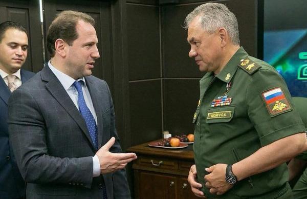 Тоноян и Шойгу утвердили план двустороннего сотрудничества МО Армении и РФ на 2019 год