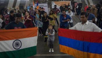 Индия индусы в Армении