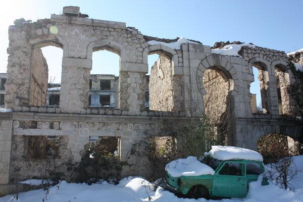 Караван-сарай где останавливался Лермонтов в Шуши