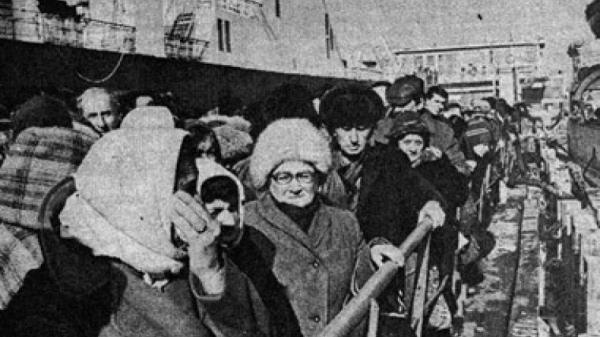 погромы Азербайджан беженцы